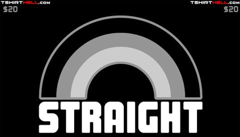 Straight Rainbow Shirts