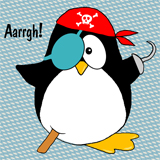 Pirate Penguin Design
